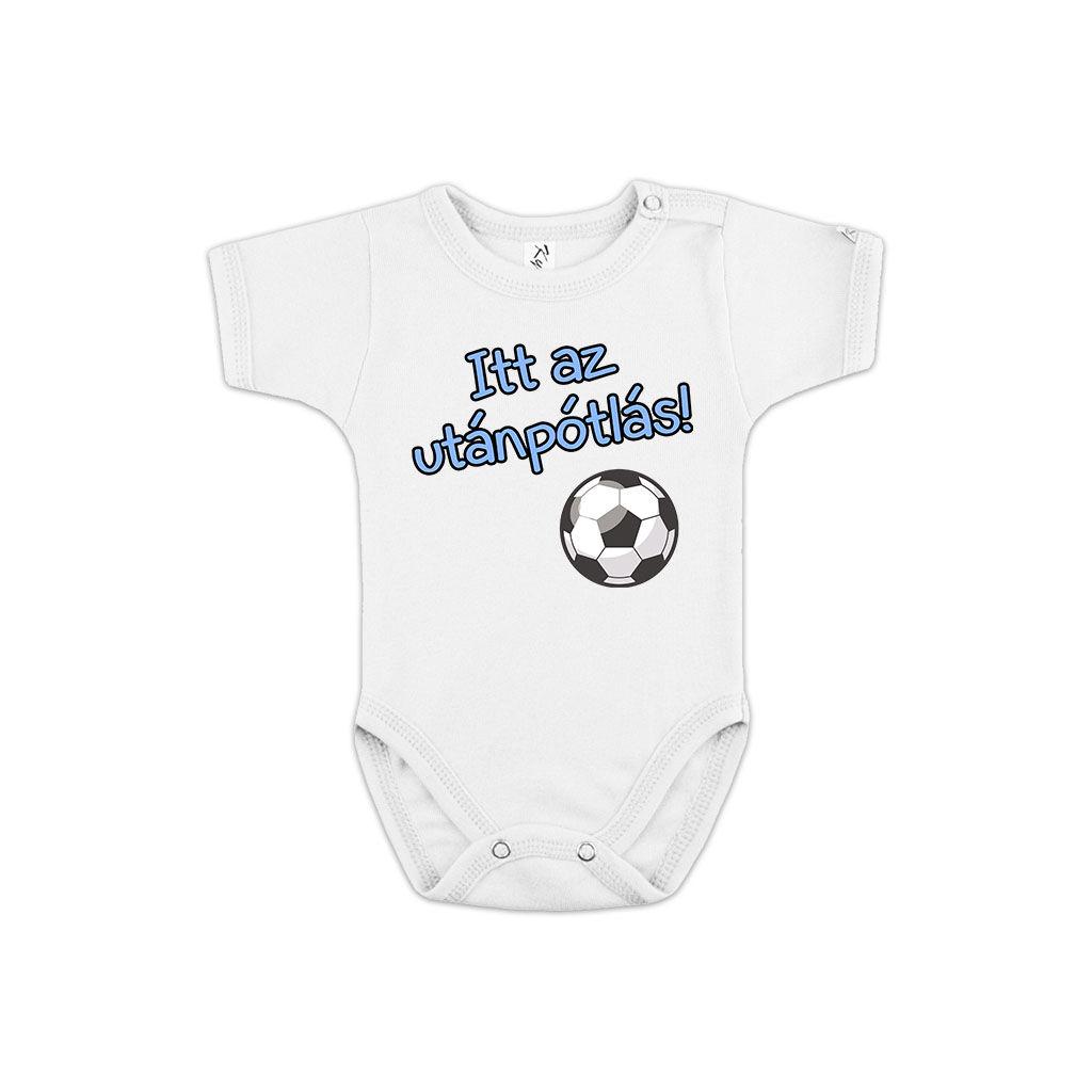 Utánpótlás focis fehér body A kép illusztráció! Nagyításhoz kattints rá! 2777fb32a7