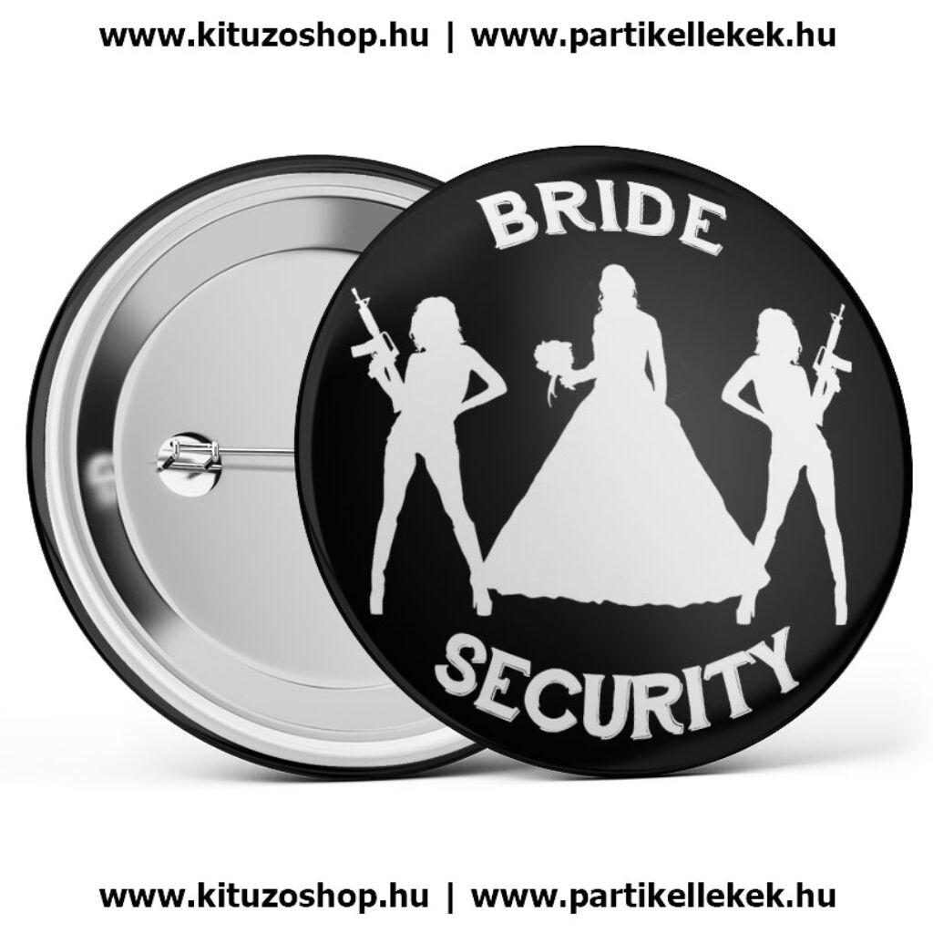 Bride security lánybúcsú kitűző A kép illusztráció! Nagyításhoz kattints rá! 73016c5f3c