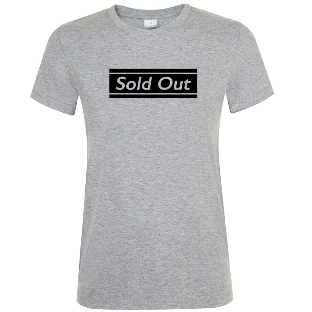 Sold Out póló lánybúcsúra fehér A kép illusztráció! Nagyításhoz kattints rá! 2d66f12732