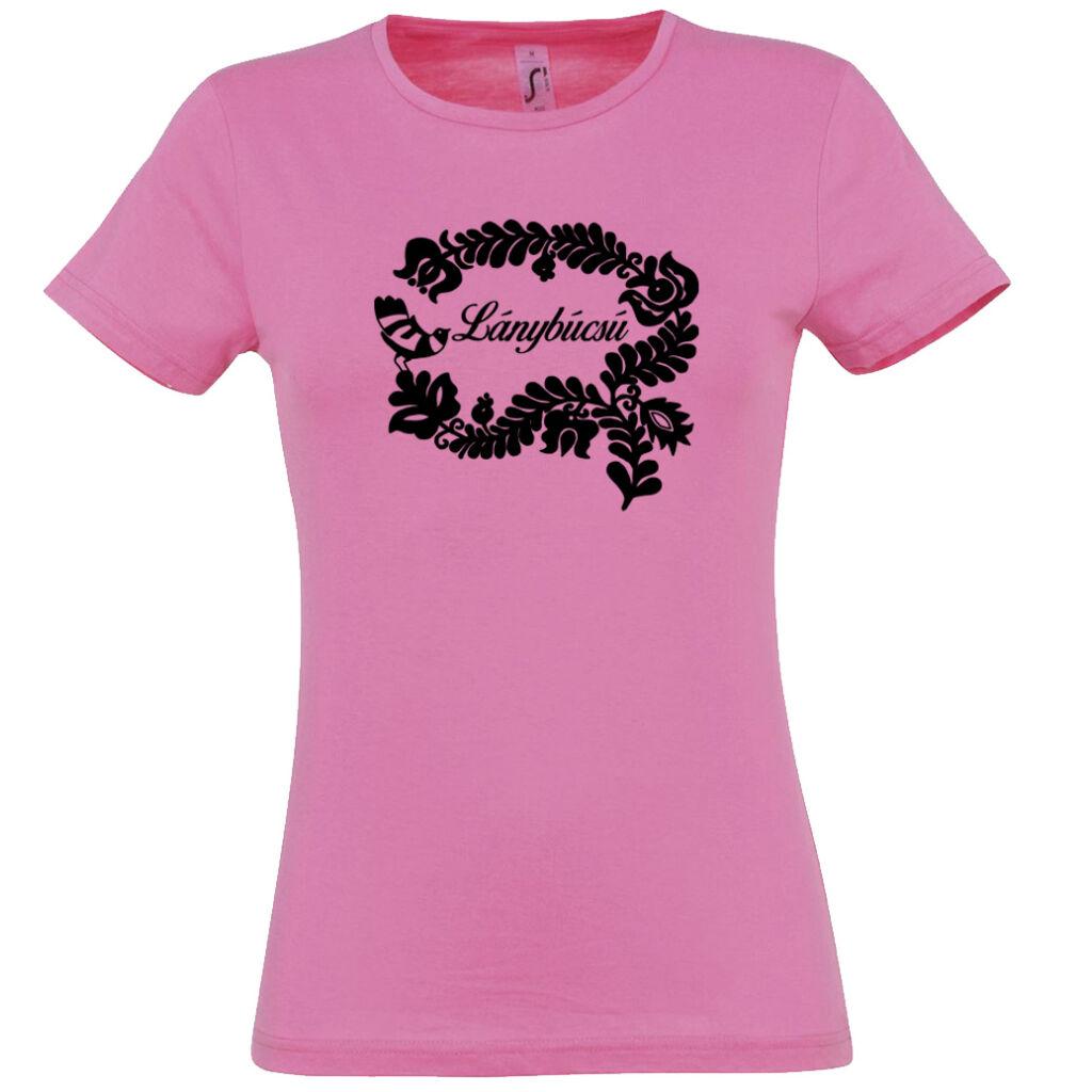 Magyar népmesék lánybúcsú póló rózsaszín A kép illusztráció! Nagyításhoz  kattints rá! cff5686f1b