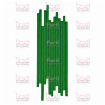 Zöld egyszínű papír szívószál 20db