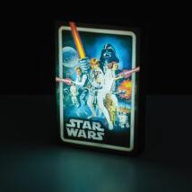 Star Wars vászon hangulatvilágítás