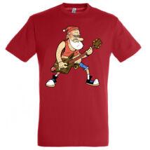 Santa Rockstar póló több színben