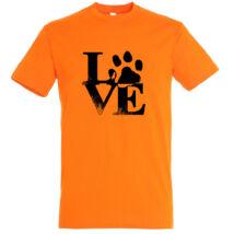 Love tappancsos kutyás póló fd4eb01e01