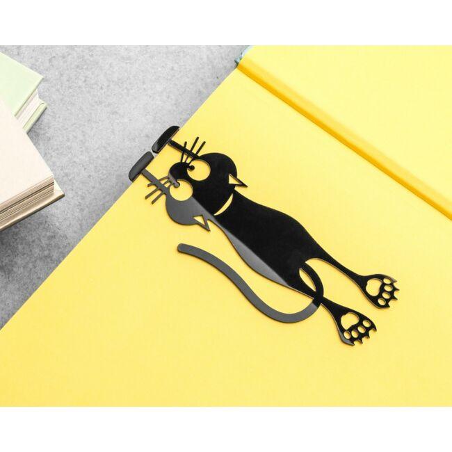 Kapaszkodó cica könyvjelző