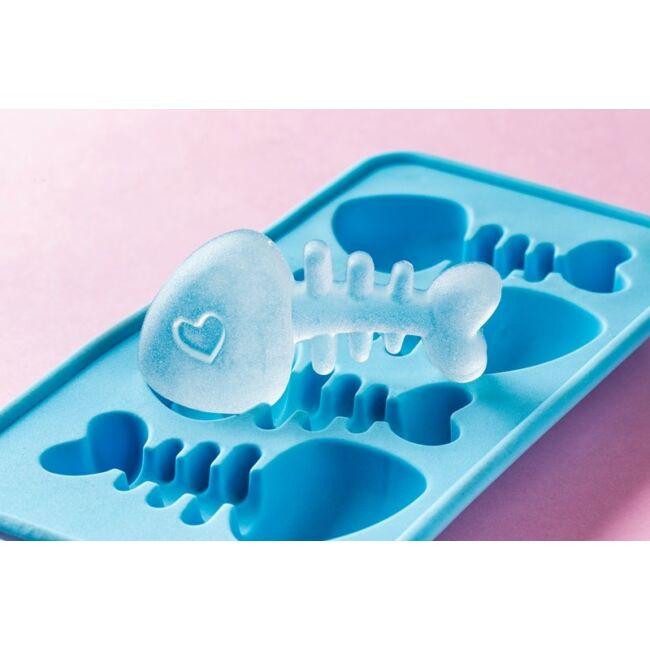Halszálka jégkocka készítő - kék