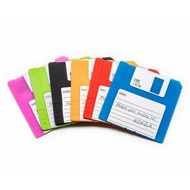 Floppy lemez poháralátét