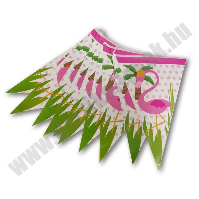 Flamingós zászlófüzér