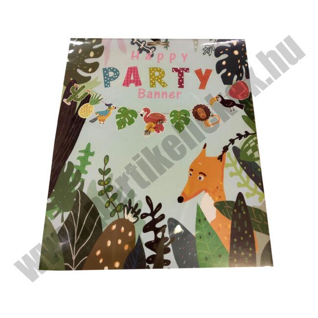 Happy Party Animal banner - DIY