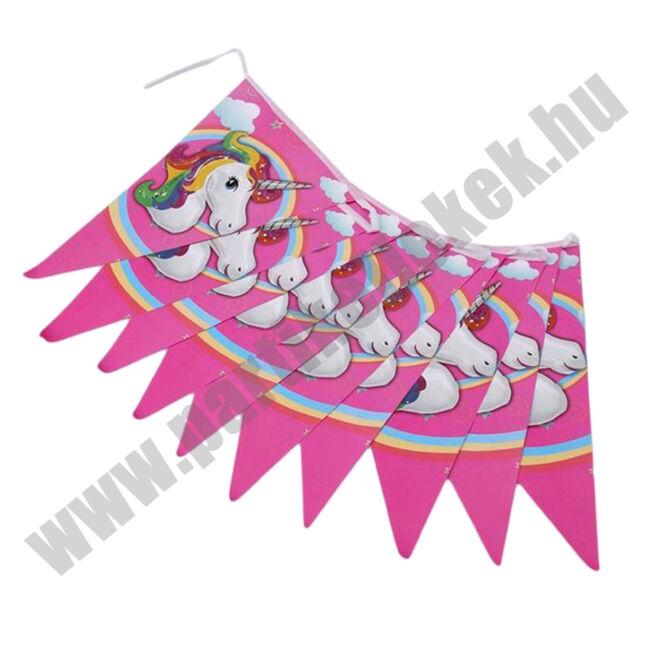 Unikornis Zászlófüzér - rózsaszín
