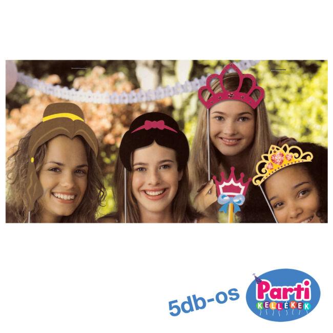 Party fotó kiegészítő 5db-os, hercegnős