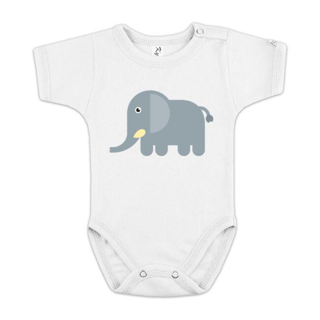 Elefántos fehér body