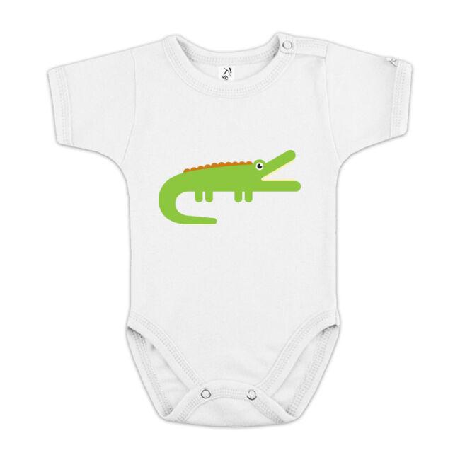 Krokodilos fehér body