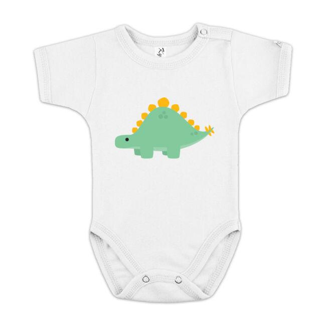Stegosaurusos fehér body