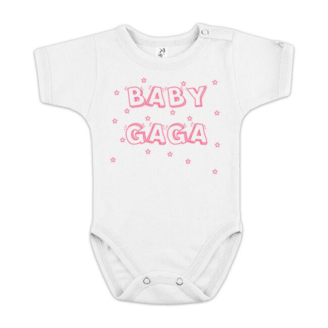 Baby Gaga fehér body