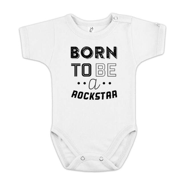 Born To Be a RockStar fehér body