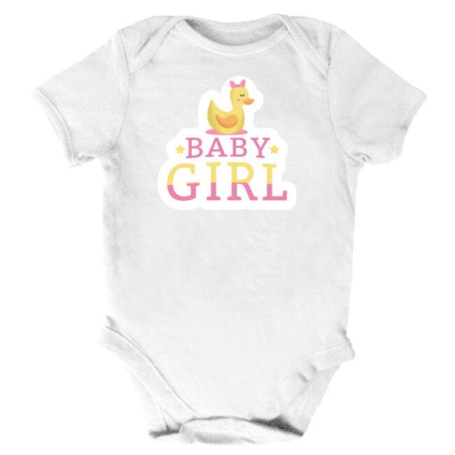 Baby Girl, kacsás body