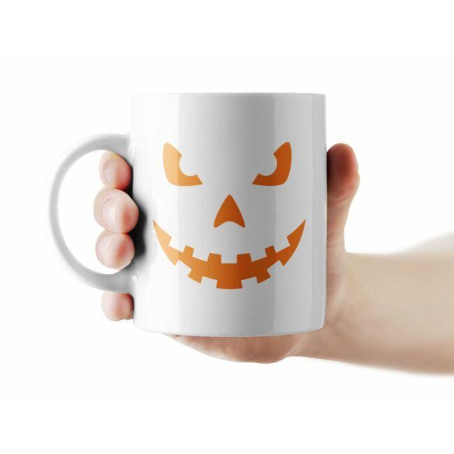Töklámpás mintás Halloween bögre