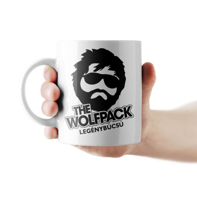 Wolfpack bögre a vőlegénynek.