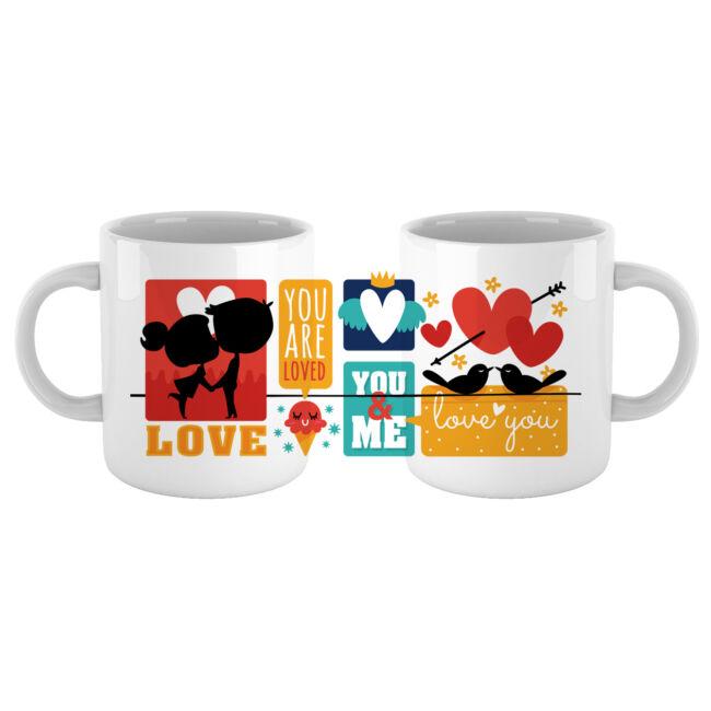 You & Me szerelmes bögre