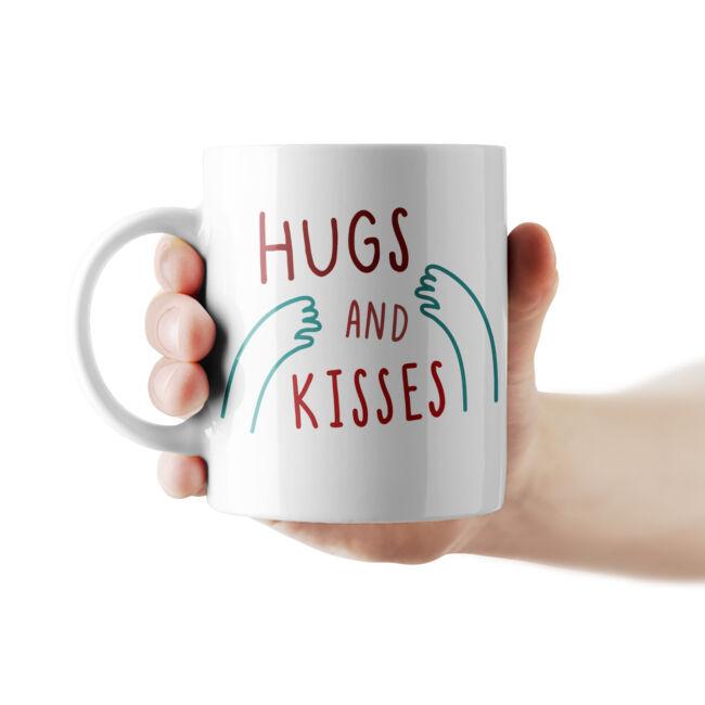 Hugs and Kisses bögre