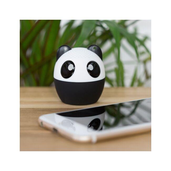 Állati erős mini hangszóró, kihangosító és szelfi távirányító egyben Panda