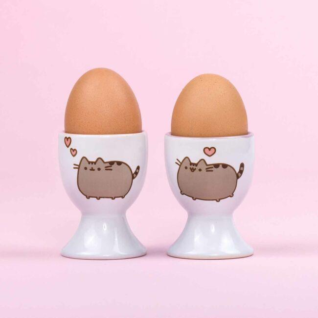 Pusheen cica tojástartó 2 db-os szett