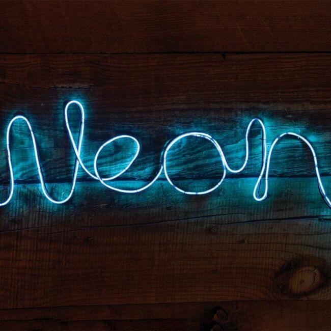 Csináld magad neon hangulatvilágítás kék