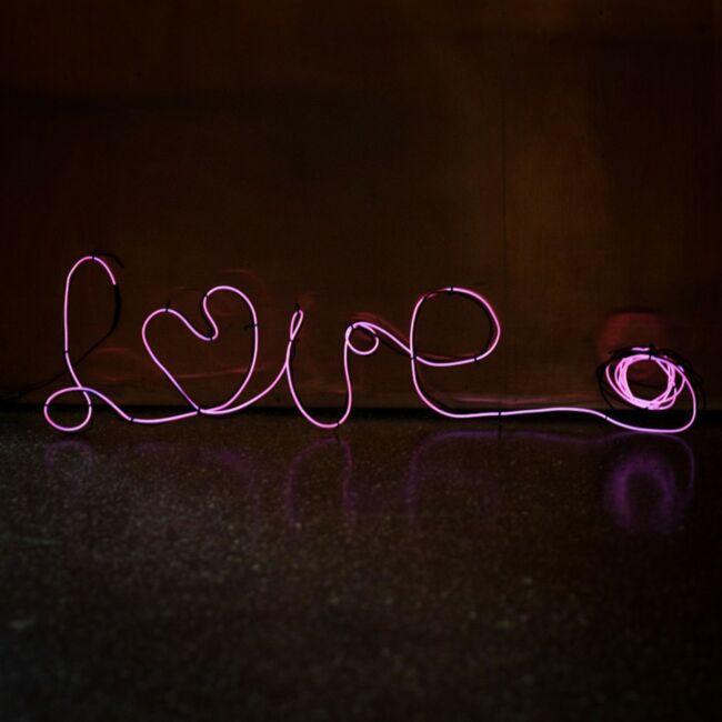 Csináld magad neon hangulatvilágítás rózsaszín