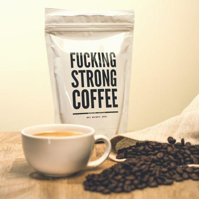 F*cking strong coffee - extra erős kávé őrlemény