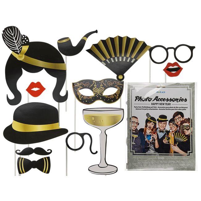 Pálcikás party fotó kiegészítő - Gatsby új évi buli