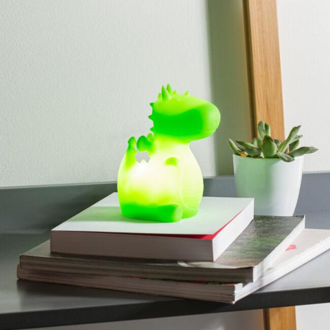 Orochi a sárkány éjszakai hangulatvilágítás Zöld