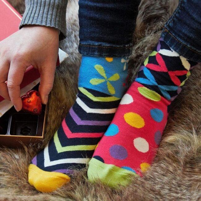 Foot Kandy - 6 darabos különböző mintájú női zokni szett
