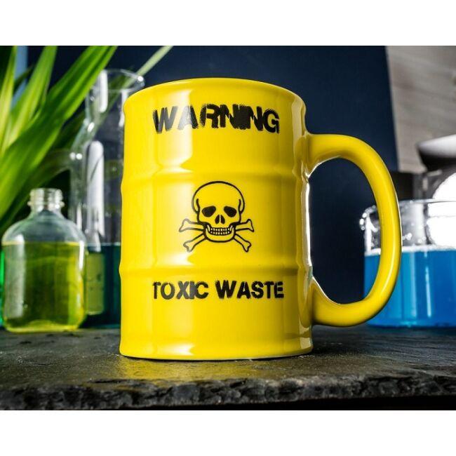Mérgező hulladék hordó formájú bögre