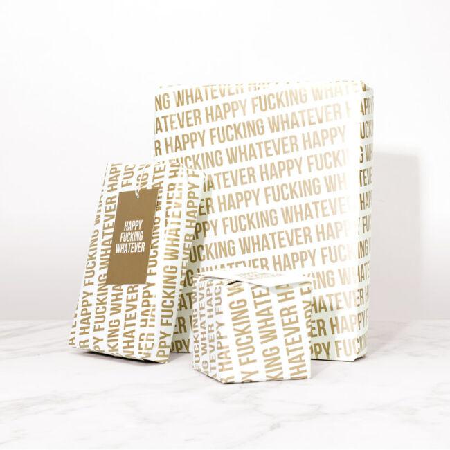 Sértegetős csomagolópapír