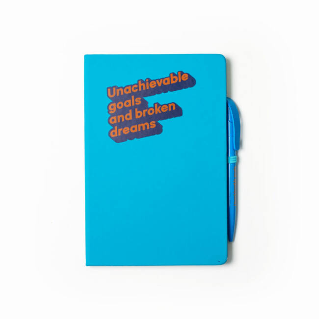 Cinikus jegyzetfüzet Unachievable goals and broken dreams