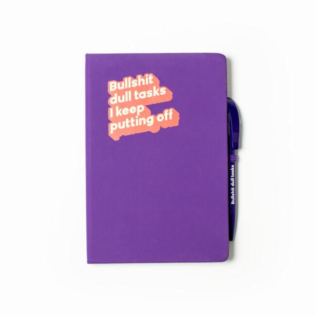 Cinikus jegyzetfüzet Bullshit dull tasks