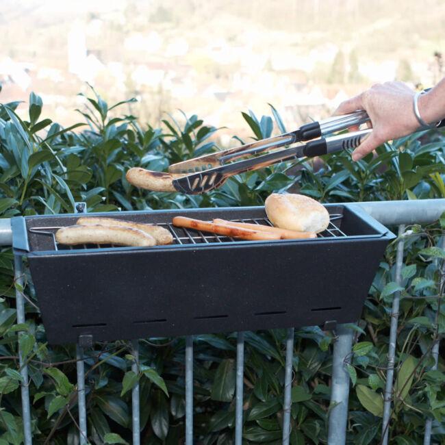 Erkély BBQ grillsütő