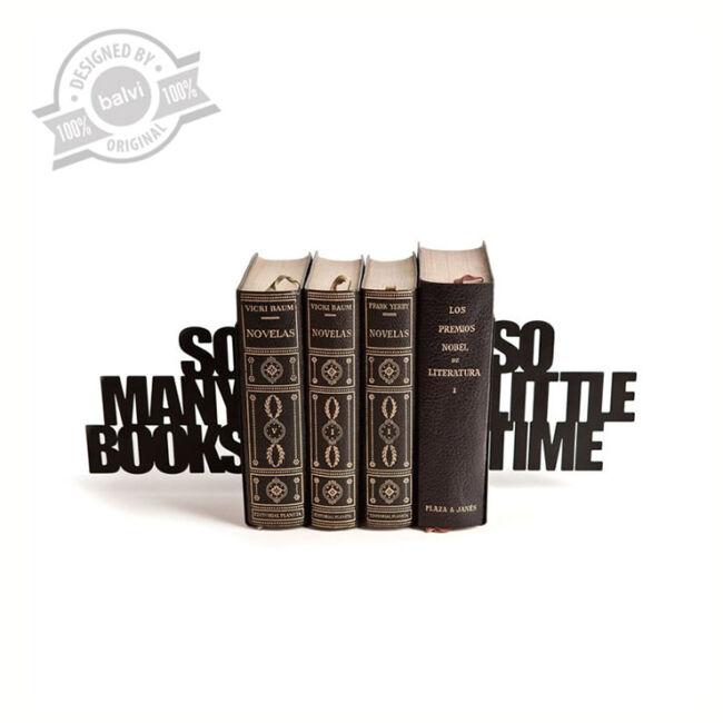 So Many Books, So Little Time könyvtámasz