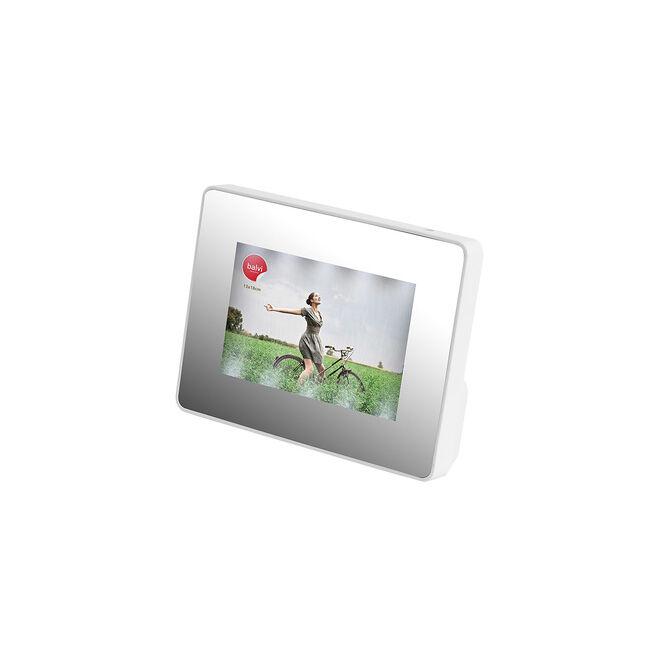 Fehér tükör LED képkeret