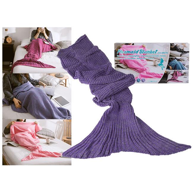 Sellő takaró Világos lila
