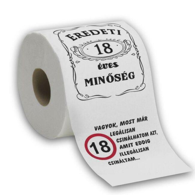 18. Szülinap WC Papír