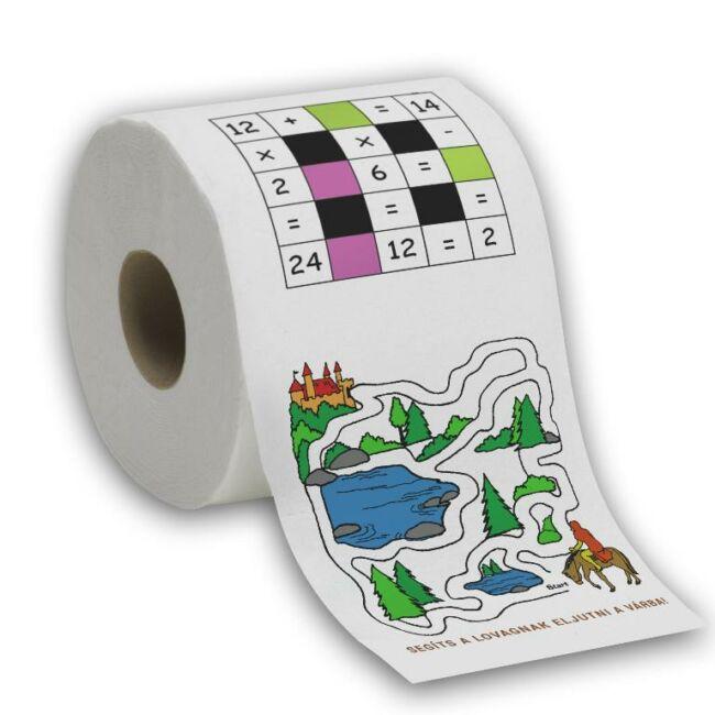 Rejtvény WC Papír Gyerekeknek