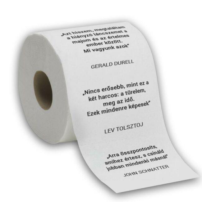 Nagy Bölcseletek egy WC Papíron
