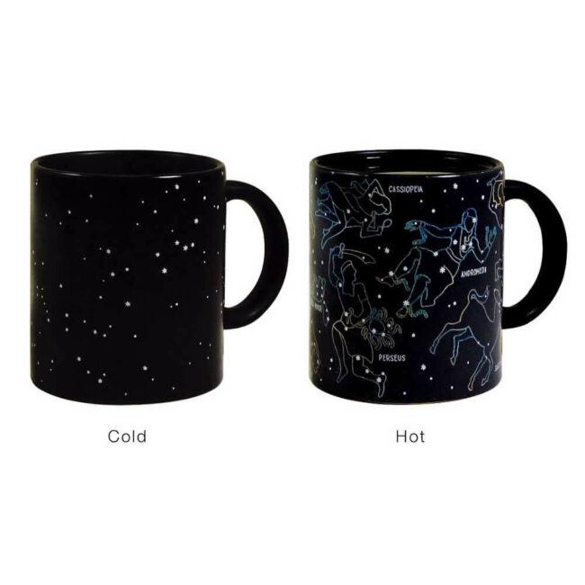 Hőre változó csillagjegy bögre