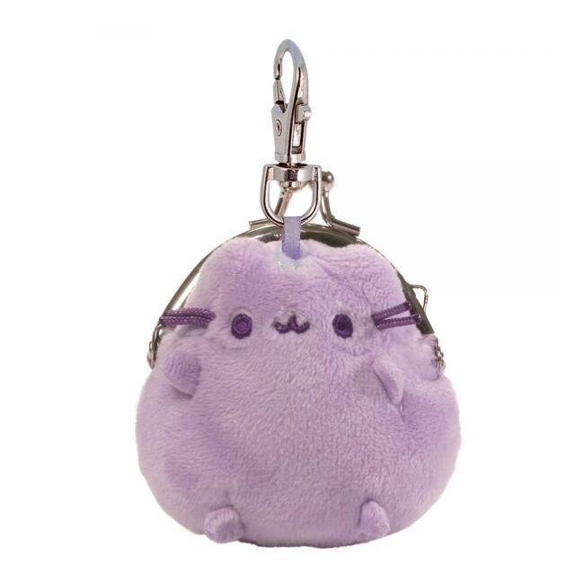 Pusheen cica mini pénztárca Lila