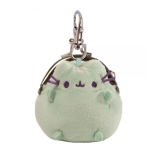 Pusheen cica mini pénztárca Zöld