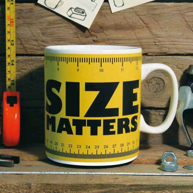 A méret a lényeg! Óriás bögre