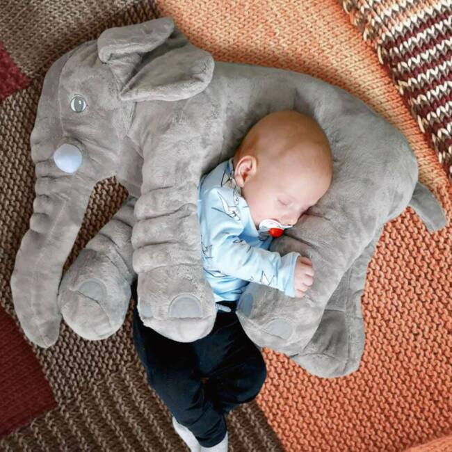 Plüss elefánt párna