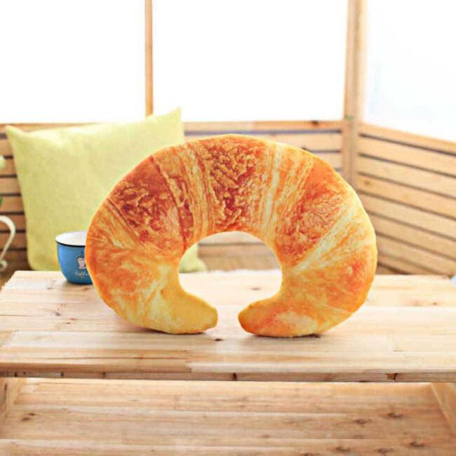 Croissant utazó nyakpárna